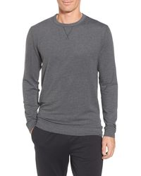 tasc Performance Legacy Crewneck Sweatshirt - Gray
