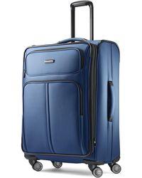 "Samsonite Leverage Lte 25"" Spinner Wheel Suitcase - Blue"