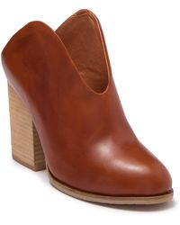 Antelope Open Front Mule - Brown
