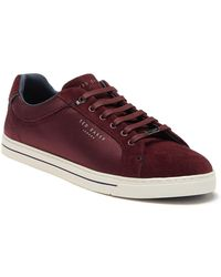 Ted Baker - Eeril Text Am Sneaker - Lyst