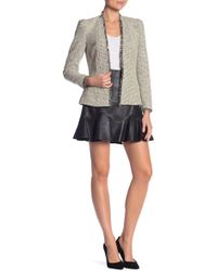Rebecca Taylor - Vegan Leather Skirt - Lyst