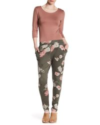 Dex - Pull-on Patterned Skinny Trousers - Lyst