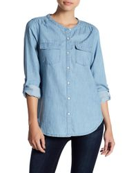 Soft Joie - Amelle Chambray Button Down Shirt - Lyst