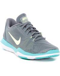 057730705ae074 Nike Flex Supreme Tr 5 Mesh Sneakers in Black - Lyst