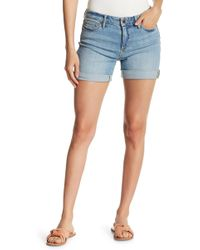 Joe Fresh - Cuffed Denim Shorts - Lyst