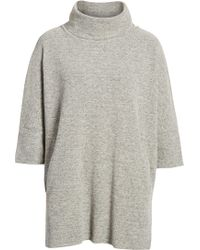 Caslon - Zip Back Pullover - Lyst
