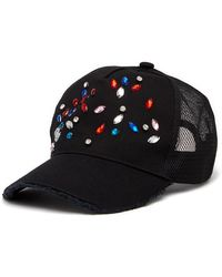 Steve Madden - Jewel Embellished Baseball Hat - Lyst