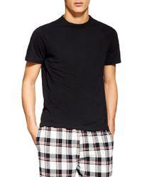 TOPMAN Two-piece Pyjama Set - Black