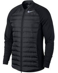 Nike Aeroloft Golf Hyperadapt Jacket - Black