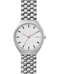 Skagen - Men's Grenen Stainless Steel Mesh Strap Watch, 40mm - Lyst