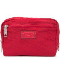 Rebecca Minkoff Nylon Cosmetic Pouch - Red