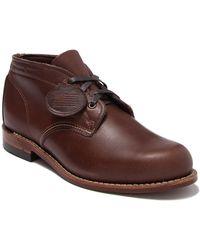 Wolverine 1000 Mile Original Leather Chukka Boot - Brown