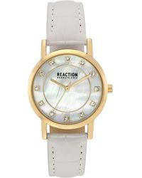 Kenneth Cole Reaction Women's Classic Crystal Strap Watch - Metallic