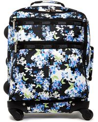 """LeSportsac   18"""" 4-wheel Floral Luggage   Lyst"""