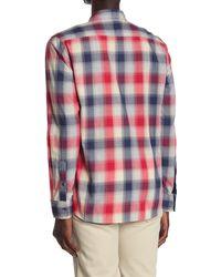 Flag & Anthem Leyden Long Sleeve Shirt - Red