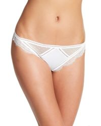 Thistle & Spire - Amore Cheeky Tanga Bikini - Lyst
