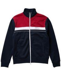 Ben Sherman Front Zip Track Jacket - Blue