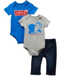 Levi's - 3-piece Mega Box Set (baby Boys) - Lyst