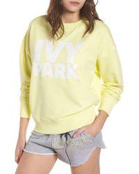 Ivy Park - (r) Logo Sweatshirt - Lyst