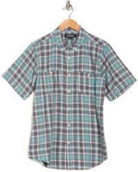 Ezekiel Jimmy Check Regular Fit Shirt - Blue