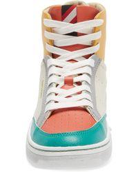 Superdry Basket High Top Sneaker - Gray