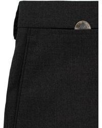 Louis Raphael Solid Flat Front Slim Fit Dress Pants - Black