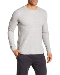 Bread & Boxers - Long Sleeve Thermal Shirt - Lyst