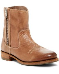 Blackstone - Side Zip Leather Boot - Lyst