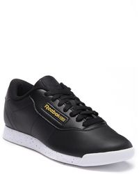 Reebok Princess Lace-up Sneaker - Black