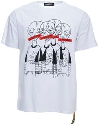 Xray Jeans 4 Minds Relaxed Fit Graphic T-shirt - White