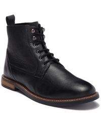 Ben Sherman Leather Boot - Black