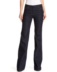 Theory - Demitria Flared Jeans - Lyst