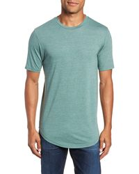 Goodlife Triblend Scallop Crewneck T-shirt - Green
