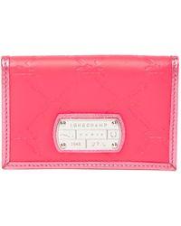 Longchamp - Lm Cuir Credit Card Holder - Lyst