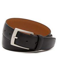 Bosca - Edge Stitched Leather Belt - Lyst