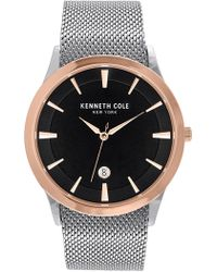 Kenneth Cole - Men's Classic Mesh Watch, 41mm - Lyst