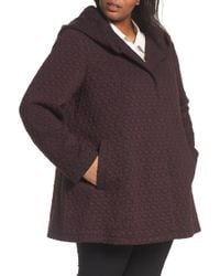 Gallery - Cosy Knit Coat (plus Size) - Lyst