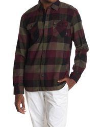 Vans Box Plaid Flannel Shirt - Multicolor