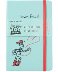 Moleskine Limited Edition Toy Story Ruled Notebook - Blue