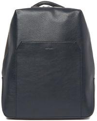 Matt & Nat Etna Vegan Leather Backpack - Blue