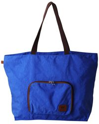 Most Wanted Usa The Foldable Tote Bag - Blue