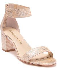 Bettye Muller - Tangle Shimmer Block Heel Sandal - Lyst