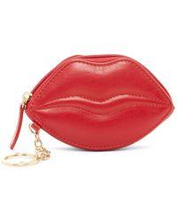 ILI - Lip Leather Coin Purse - Lyst