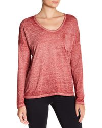 Threads For Thought - Clementine Long Sleeve Burnout Tee - Lyst