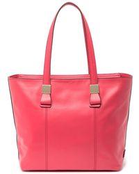 Cole Haan Tali Small Leather Tote Bag - Multicolour