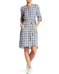 Velvet By Graham & Spencer   Nixie Plaid Shirt Dress   Lyst
