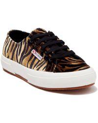 Superga 2750 Fanvelvetw Shoe - Multicolor