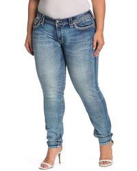 Rock Revival Skinny Jeans - Blue