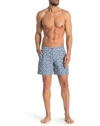 Ben Sherman - Printed Swim Shorts - Lyst