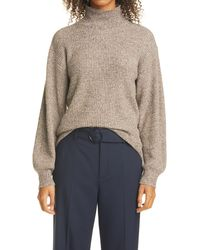 Club Monaco Marled Turtleneck Sweater - Multicolor